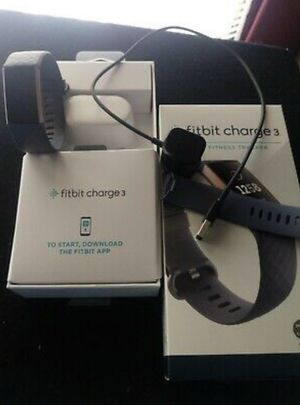 Fitbit charge 3 for Sale in Warminster, PA