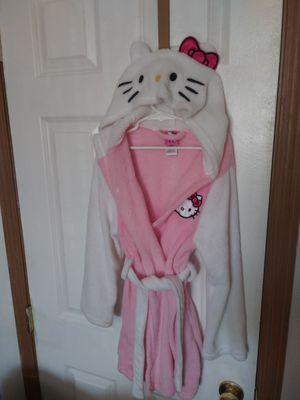 Cute girls Hello Kitty hooded bathrobe for Sale in Portland, OR