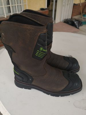 Ariat catalyst composite toe work boots size 11.5 EE for Sale in Riverside, CA