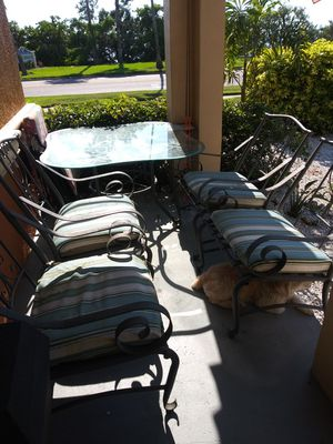 Outdoor furniture/patio set for Sale in Clearwater, FL