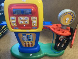 Gas station pretend play for Sale in Burlington, NC
