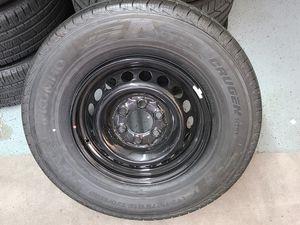 One brand new sprinter spare wheel rim black for Sale in Newport Beach, CA