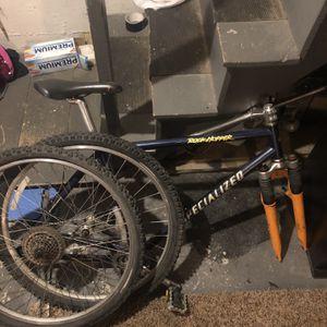Vintage Specialized Rockhopper Mountain Bike Frame And Shimano Rims for Sale in Holbrook, MA