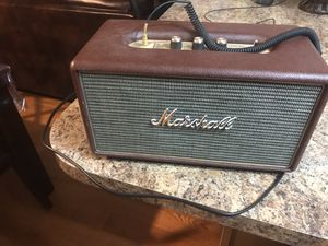Marshall Bluetooth Speaker Stanmore for Sale in Lincoln, NE