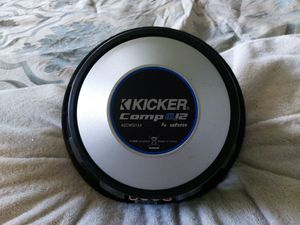 Kicker comp q 12in subwoofer for Sale in Houston, TX