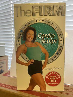 The Firm Cardio Sculpt VHS 📼 Vintage for Sale in Albuquerque, NM