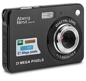 "21 Mega Pixels 2.7"" LCD Rechargeable HD Digital Camera,Video camera Digital Students cameras,Indoor Outdoor for Adult/Seniors/Kids (Black) for Sale in Plainfield, NJ"