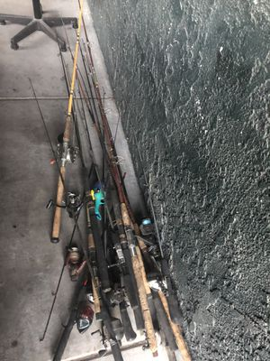 fishing rods for Sale in Henderson, NV