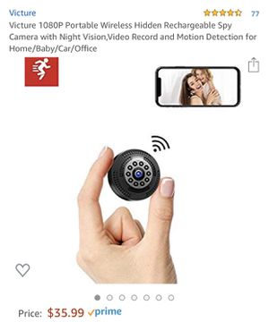 mini spy camera for Sale in Fairfax Station, VA