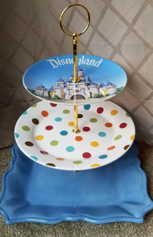 Tiered Disney plate for Sale in Federal Way, WA