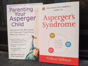 AUTISM SPECTRUM BUNDLE FOR PARENTS! Reference for ASD and Asperger's Syndrome, birth to 18 years. Very Good and Good Condition. $30 Value for $8!! for Sale in Manassas Park, VA