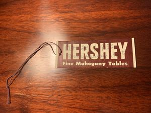 Antique Mahogany Table by Hershey's In PA for Sale in East Longmeadow, MA