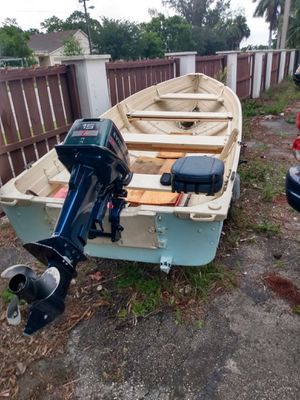 14' StarCraft w/15 Evinrude and cont. Trailer for Sale in Palm Springs, FL