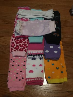 Baby girl leg warmers 12 pairs for Sale in San Diego, CA