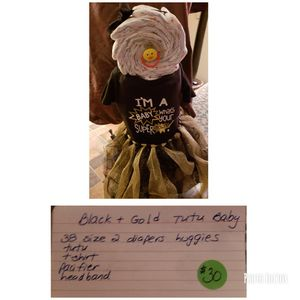Diaper cake baby for Sale in Frostproof, FL