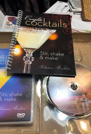 Here is the set complete cocktails book an dvd for Sale in Sterling, KS