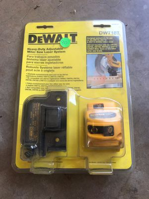 Dwewalt miter saw laser for Sale in Oklahoma City, OK