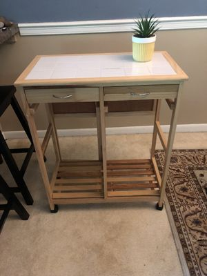 Rolling Kitchen Island/Table for Sale in Medina, OH
