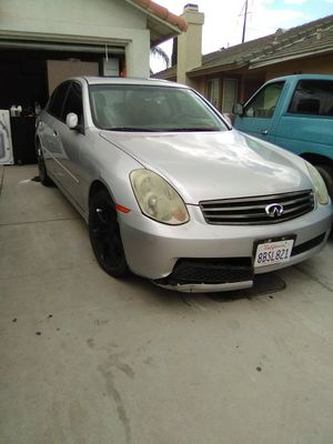 Parting 2006 Infinity G35 for Sale in Perris, CA