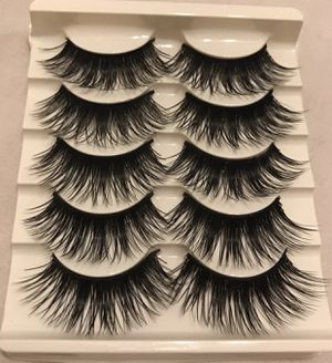 5 pairs Eyelashes for Sale in Garden Grove, CA