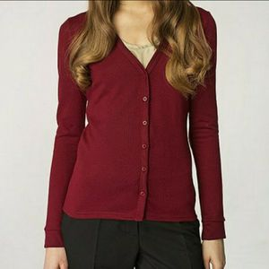 Womens Red Maroon Cardigan Sweater for Sale in Essex, MD