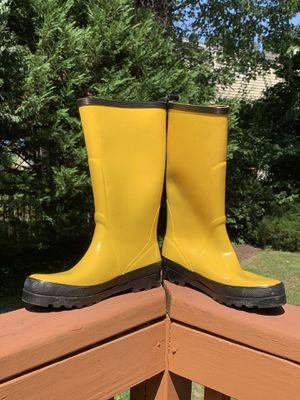 Women's J. Crew rain boots Size 8 for Sale in Kensington, MD