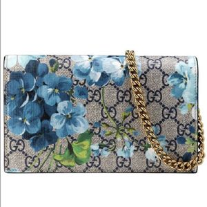 Authentic Gucci Blooms Wallet on Chain (NEW/NO SHIPPING) for Sale in Carrollton, TX