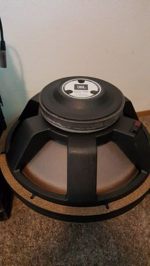 "Pro Audio Gear - 18"" JBL Subwoofer, Alesys EQ, Peavey 12"" Woofer for Sale in Spanaway, WA"