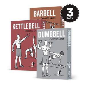 Exercise Cards (Barbell, Kettlebell, Dumbell) for Sale in Roswell, GA