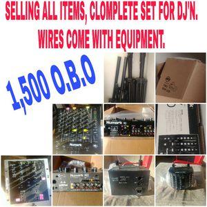 DJ EQUIPMENT!!!! for Sale in Chandler, AZ