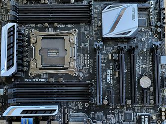 Asus X99-A USB 3.1 Motherboard for Sale in Anaheim,  CA