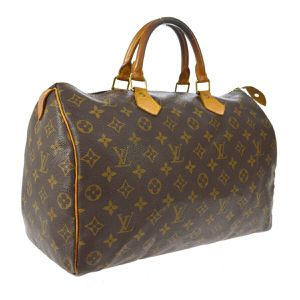 Pre-Owned LOUIS VUITTON SPEEDY 35 HAND BAG MONOGRAM CANVAS LEATHER for Sale in Henderson, NV