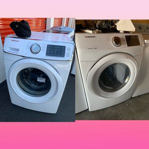 SAMSUNG FRONT LOAD WASHER & GAS DRYER SET for Sale in Carson, CA