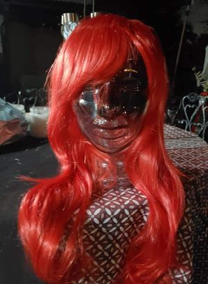 New red wig cosplay Halloween costume for Sale in Whittier, CA
