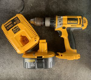 DEWALT HAMMER DRILL. IN GOOD CONDITION. Works great. Drills in cement. Or use as regular drill for Sale in Sevierville, TN