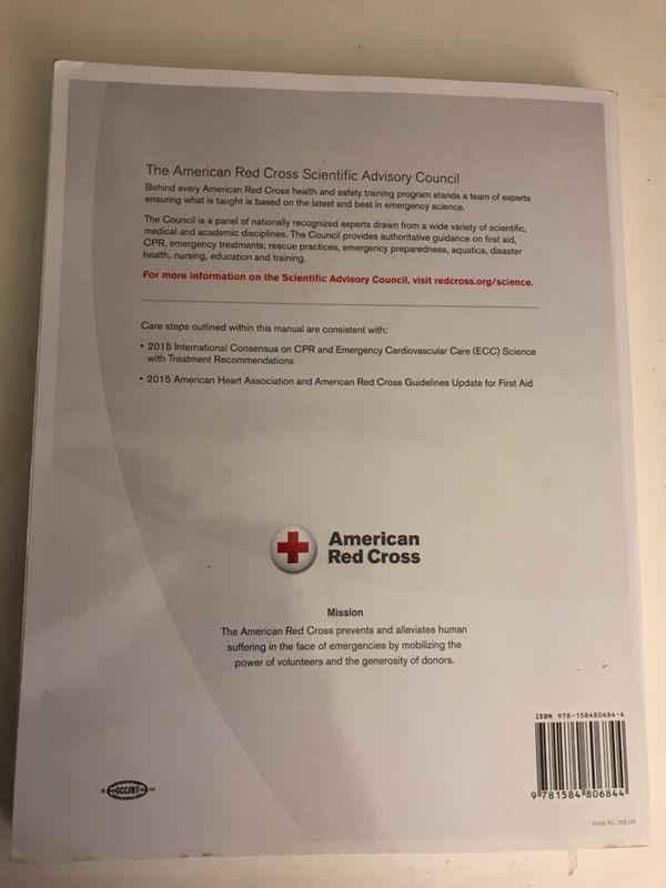 American Red Cross Book 2017 Responding To Emergencies
