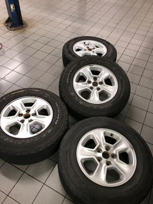 Jeep Cherokee wheels for sale 245/70/17 The best offer for Sale in Woodbridge, VA