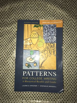 Patterns for college writing for Sale in Concord, CA