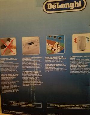 DeLonghi 50-pint Capacity Dehumidifier for Sale in Northville, MI