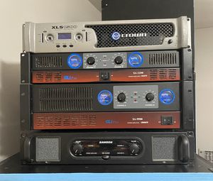 Crown, GLi Pro, Samson Amplifiers Dj Equipments for Sale in Queens, NY