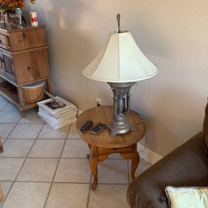 Table And Lamp for Sale in San Diego, CA