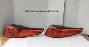 2014-2015 Kia Óptima Passenger Side Tail Lights for Sale in Jurupa Valley, CA