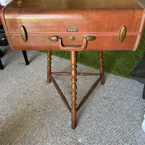 Vintage Suitcase Table - Perfect For Themed Wedding Or Rustic Living Room for Sale in Maitland, FL