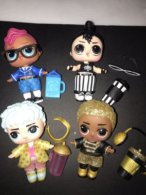 Lol Dolls lot of 4 boys for Sale in Portland, OR