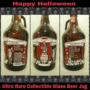 ULTRA RARE COLLECTIBLE GLASS BEER JUG (EMPTY) for Sale in Ontario, CA