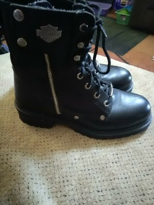 Size 8 1/2 new women's Harley Davidson boots for Sale in Stuarts Draft, VA