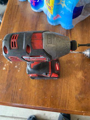 Milwaukee impact drill for Sale in Wichita, KS