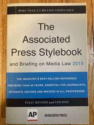 AP Stylebook 2015 for Sale in Bristol, CT