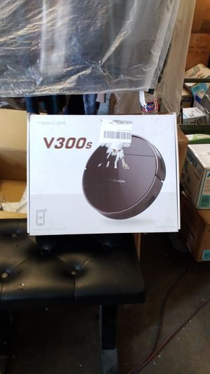Tesvor Robotic Vacuum, Wi-Fi Connected Robot Vacuum Cleaner with 1400 Pa High Suction, App Control, Mapping, 110mins Battery Life E32 for Sale in South Gate, CA