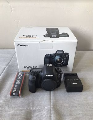 Like New Canon 6D Mark II Full Frame DSLR Camera Body for Sale in San Diego, CA